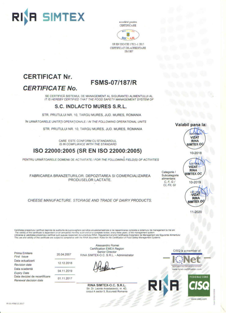 Iso 22000-2020